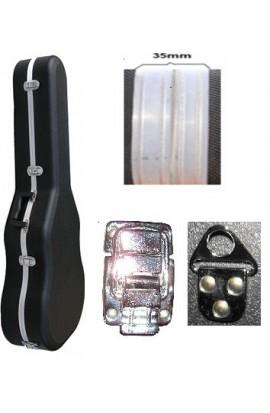 Cibeles C220.001C - Estuche ABS Clásica Foam y Aluminio Ancho