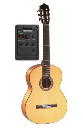 Martínez MFG-AS EF - Guitarra Flamenca EQ Fishman PSY-301