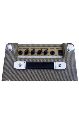 Amplificador Portable de 5W RMS con Bluetooth para guitarra eléctrica