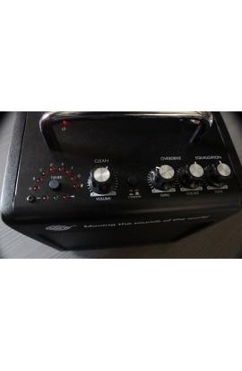 Amplificador Portable de 10W RMS para guitarra eléctrica con grabación y reproducción desde USB y SD