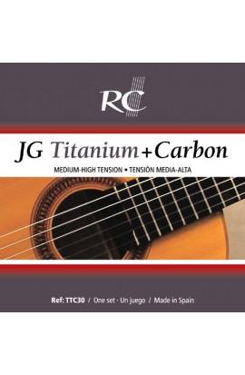 TT30 - Juego de 3 tiples de Titanio (1 Mi, 1a / 1 Si, 2a / 1 Sol, 3a)