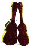 Estuche Fibra Guitarra Clásica Rojo Cibeles