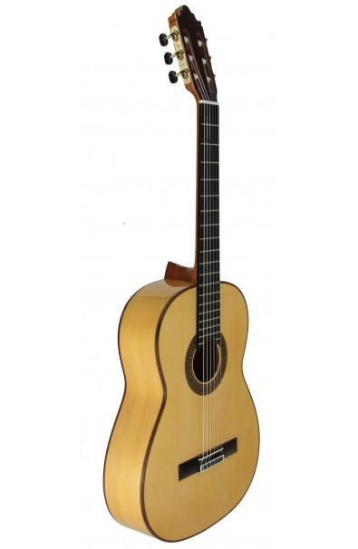 Vicente Carrillo, Pasión Flamenca Blanca - Guitarra Profesional Flamenca