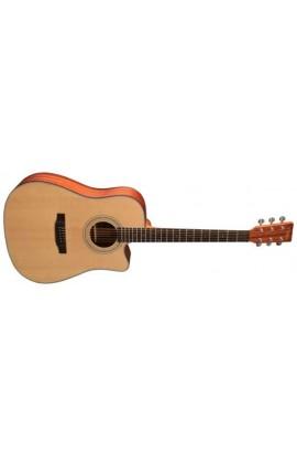 Guitarra Acústica Tyma HFCE-60 SMAT