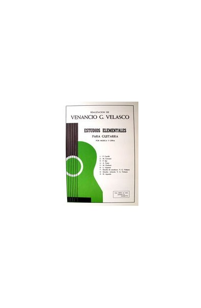Método Guitarra Venancio Velasco: Estudios Fáciles