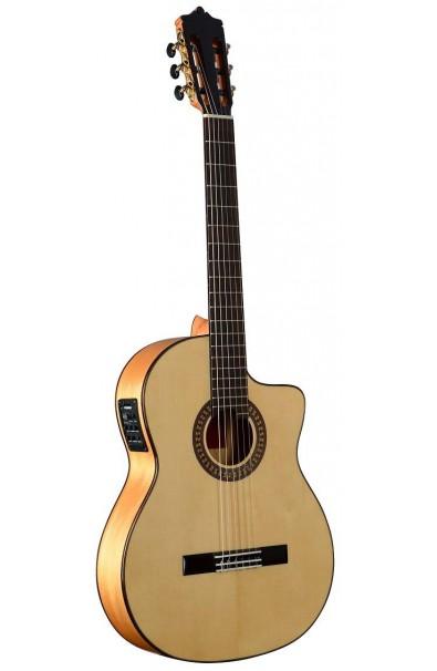 Martínez MFG-AS Cut EF - Guitarra Flamenca EQ Fishman PSY-301