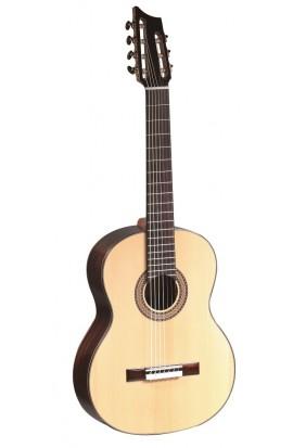 Martínez Guitarra Especial - Martínez 7 Cuerdas, Tapa Abeto Macizo, Aros y fondo Palosanto, Diapasón Palosanto
