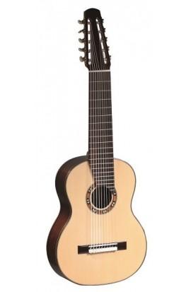 Martínez Guitarra Especial - Martínez 10 Cuerdas, Tapa Abeto Macizo, Aros y fondo Palosanto, Diapasón Palosanto