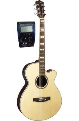 Cibeles C331.647LM - Guitarra Acústica Mini Jumbo Natural Mate