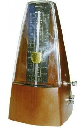 Metrónomo Mecánico de color Marrón