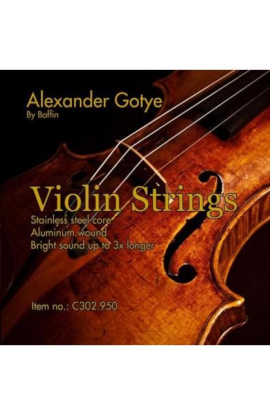 Cuerdas Violín Alexander Gotye