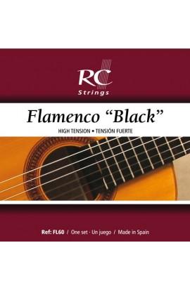 Juego de Cuerdas Royal Classics Flamenco Negro