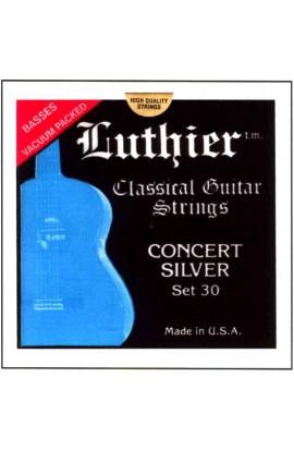Juego de Cuerdas Luthier Tensión 30